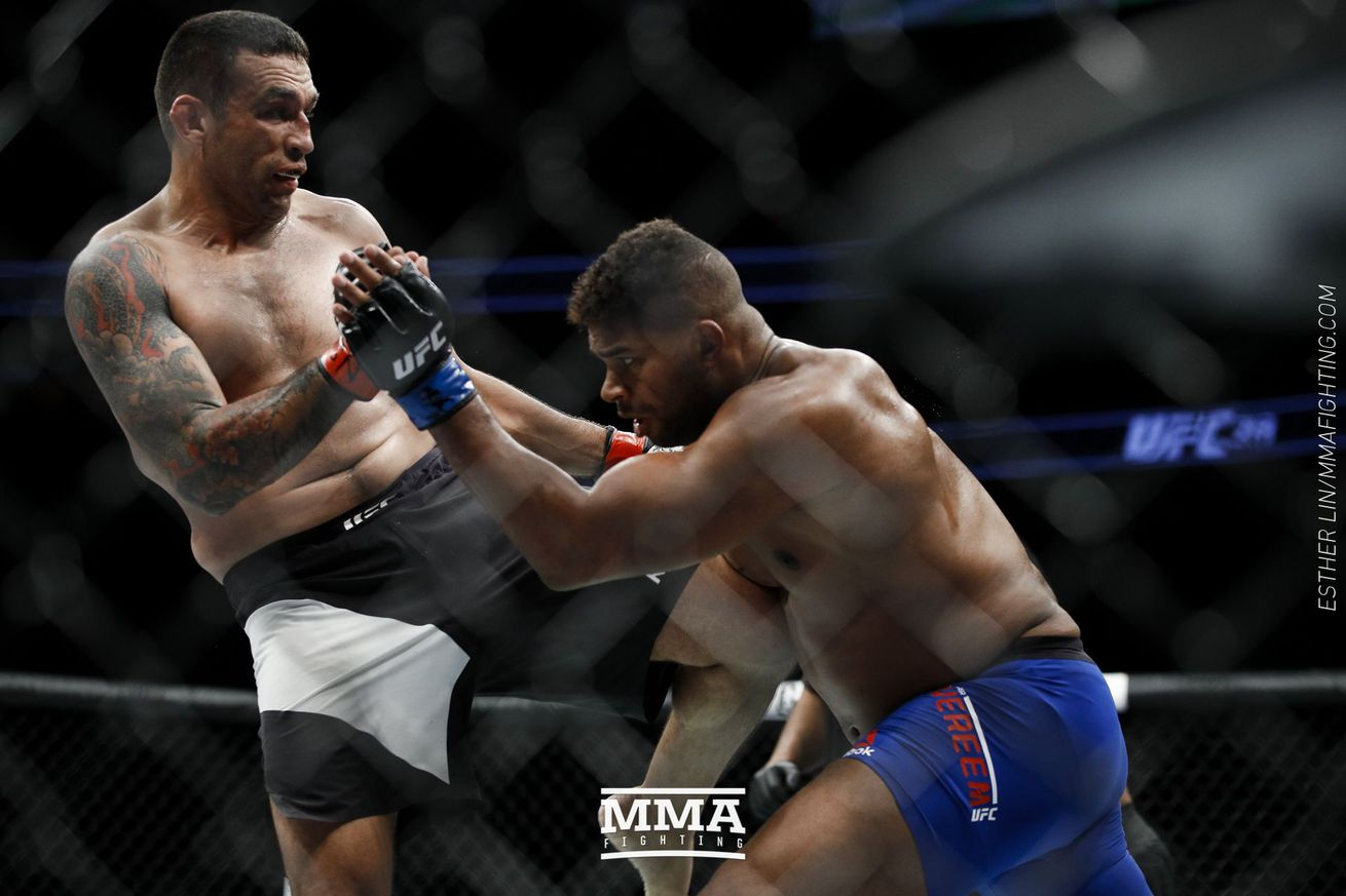 Fabricio Werdum to appeal UFC 213 decision loss to Alistair Overeem