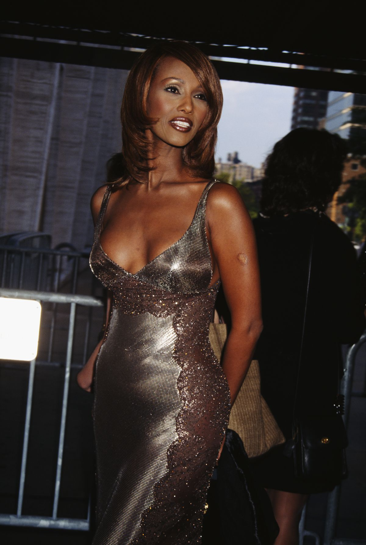 IMAN Cosmetics has been sold in both department stores and drug stores.