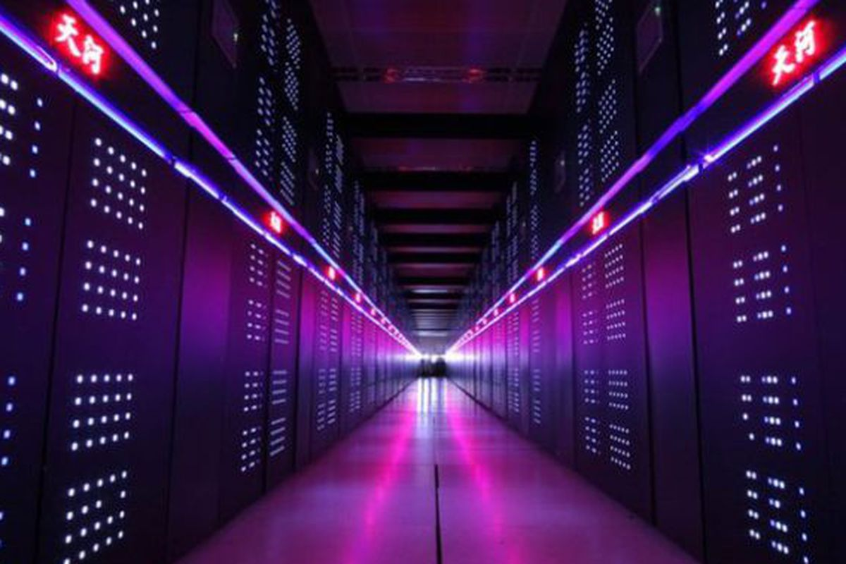 The World's Top Supercomputer Is Where? Yup. Still China.