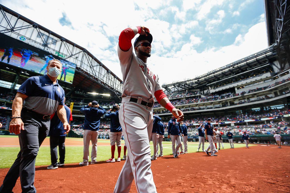 MLB: MAY 02 Red Sox at Rangers
