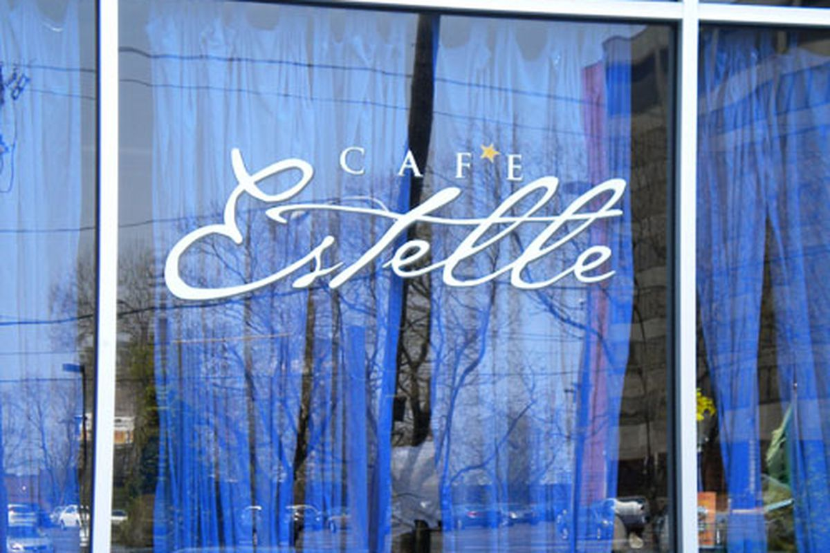 Cafe Estelle is throwing a closing party.