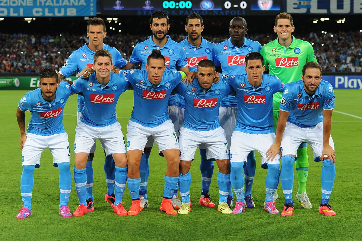 Koulibaly's look of confusion is actually kind of adorable, but not as much as Jorginho's massive grin.
