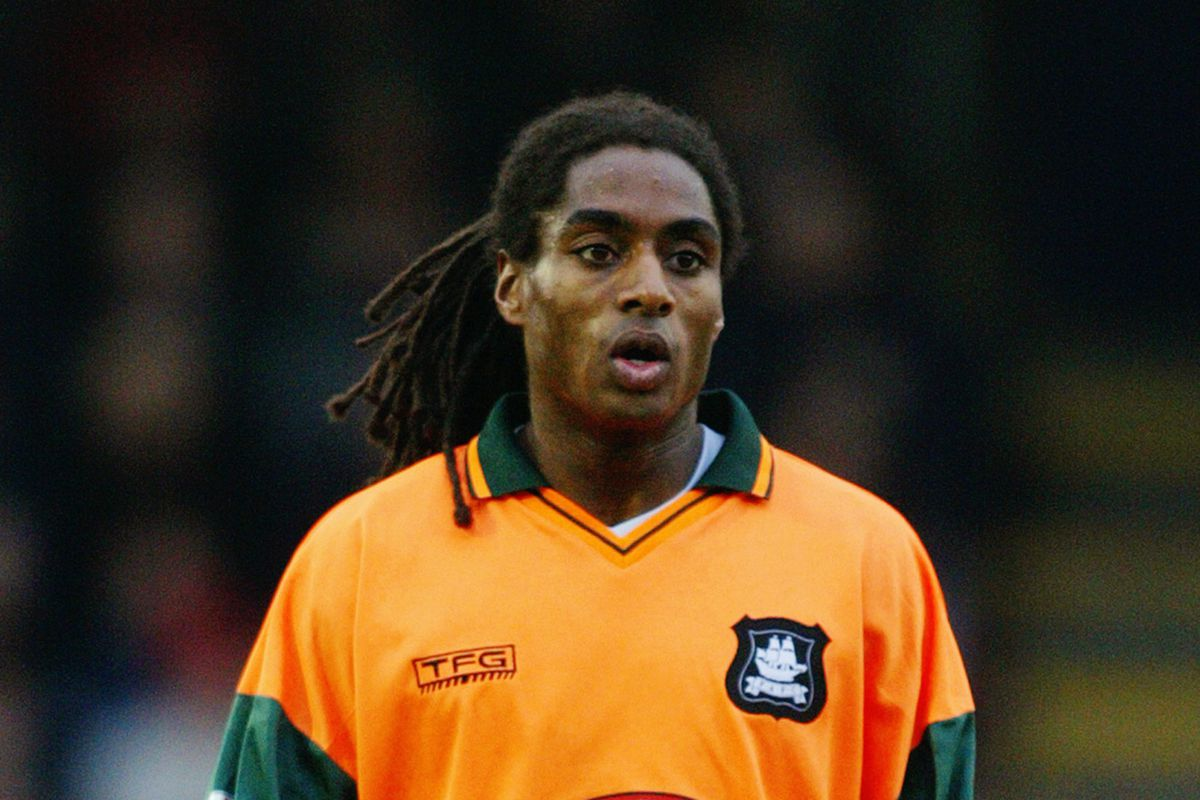 Jason Bent in his younger days with Plymouth