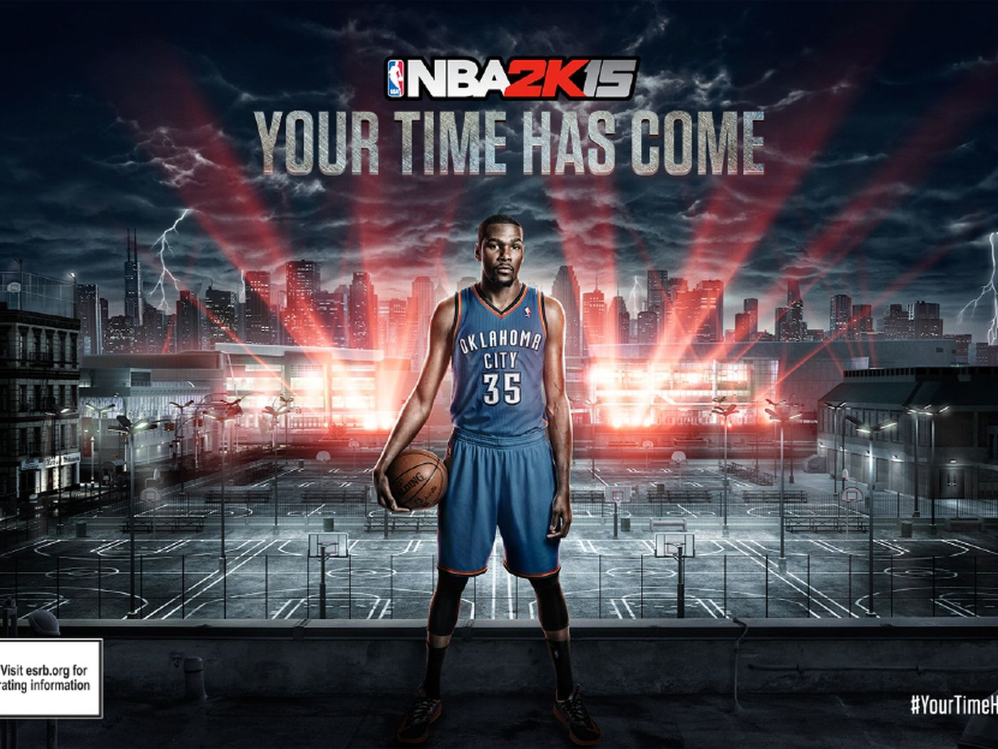 Nba 2k15s Cover Star Is Newly Crowned Mvp Kevin Durant Polygon