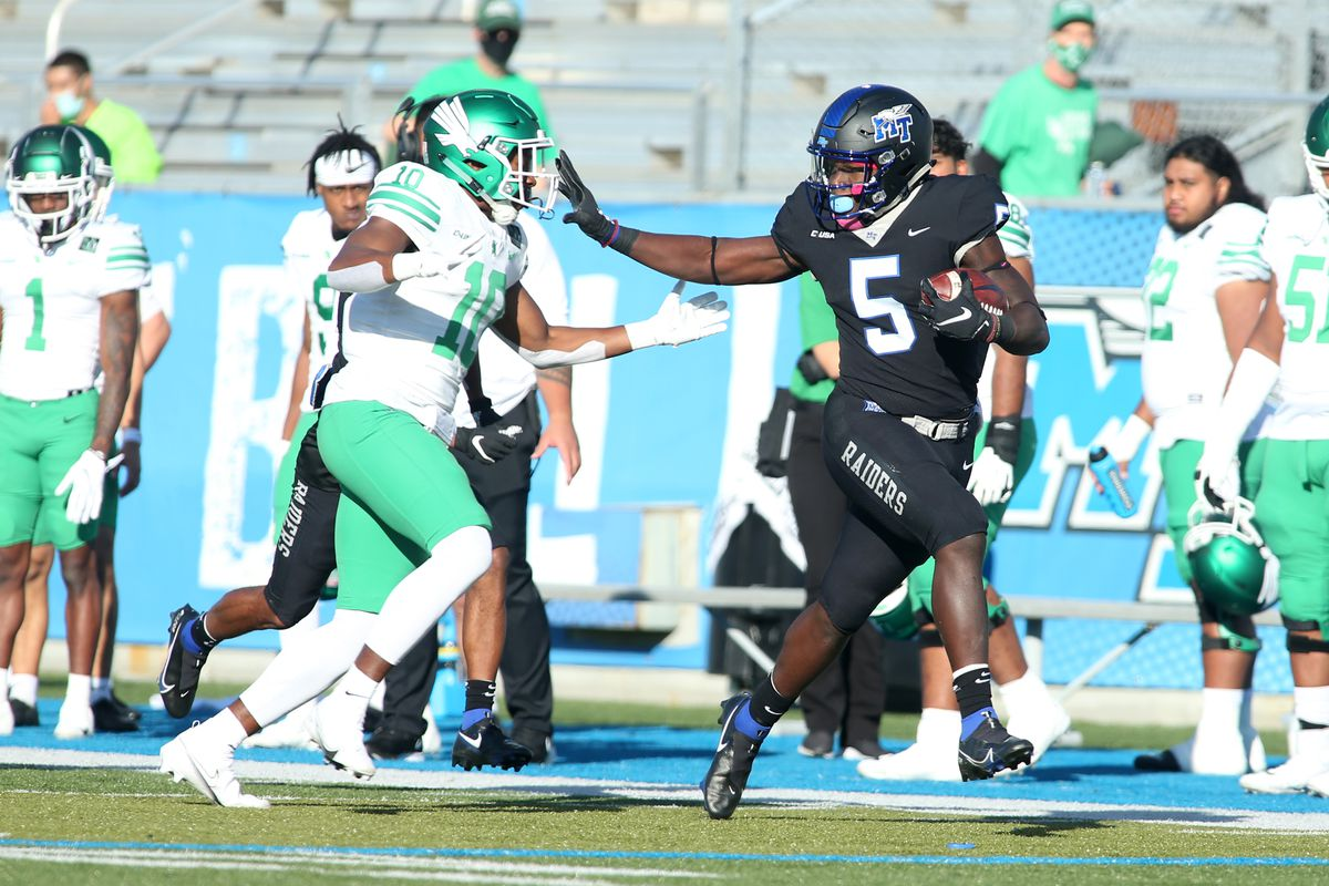 COLLEGE FOOTBALL: OCT 17 North Texas at Middle Tennessee