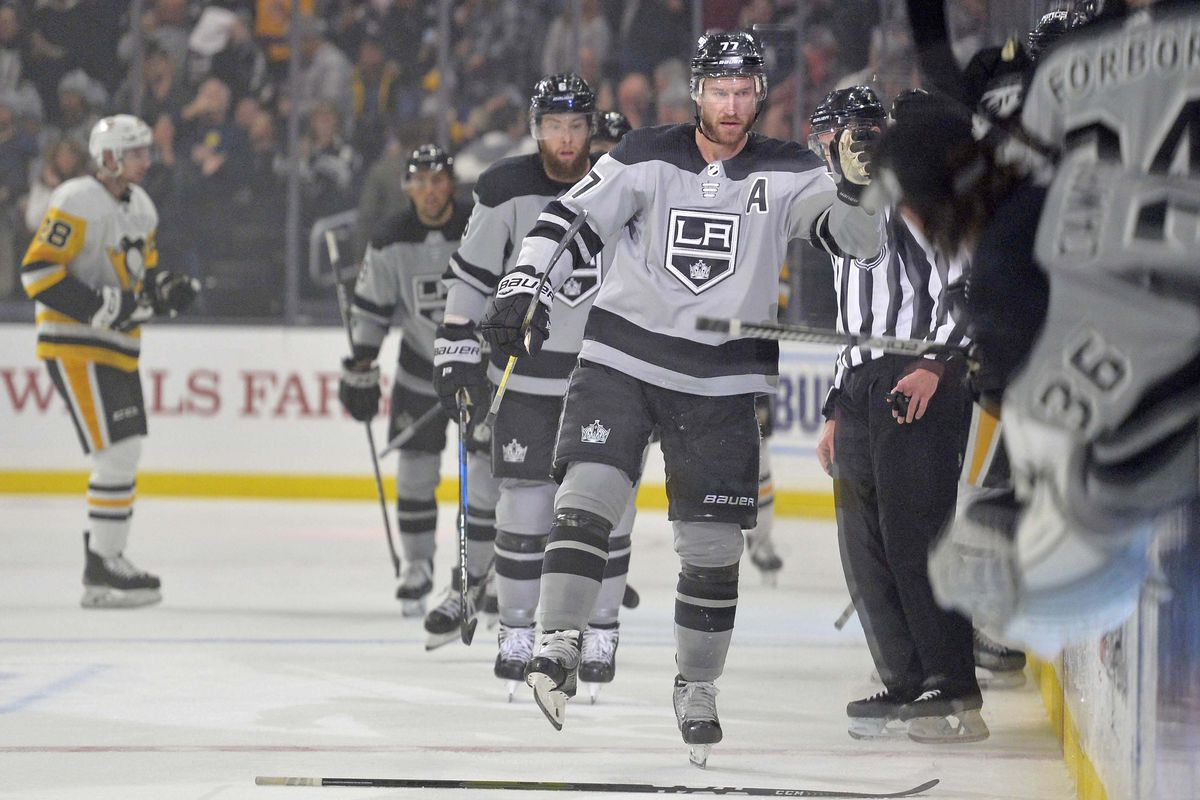 wholesale dealer 72dc1 8244a Pittsburgh Penguins @ Los Angeles Kings Game 46 Running ...