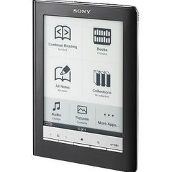 In this product image provided by Sony, a Sony Reader Touch Edition is shown.