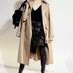 """To get the look, Zeitz suggests this Junya Watanabe <a href=""""http://www.joanshepp.com/collections/women-s-outerwear/products/junya-watanabe-trench-coat"""">Trench Coat</a> ($1,676), now in stock at Joan Shepp."""