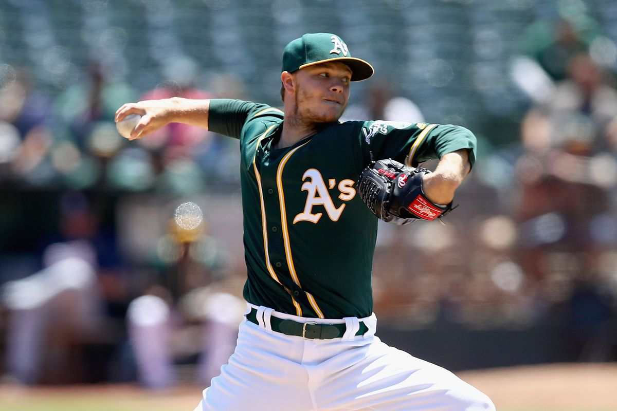 Athletics want young center fielder in Sonny Gray trade