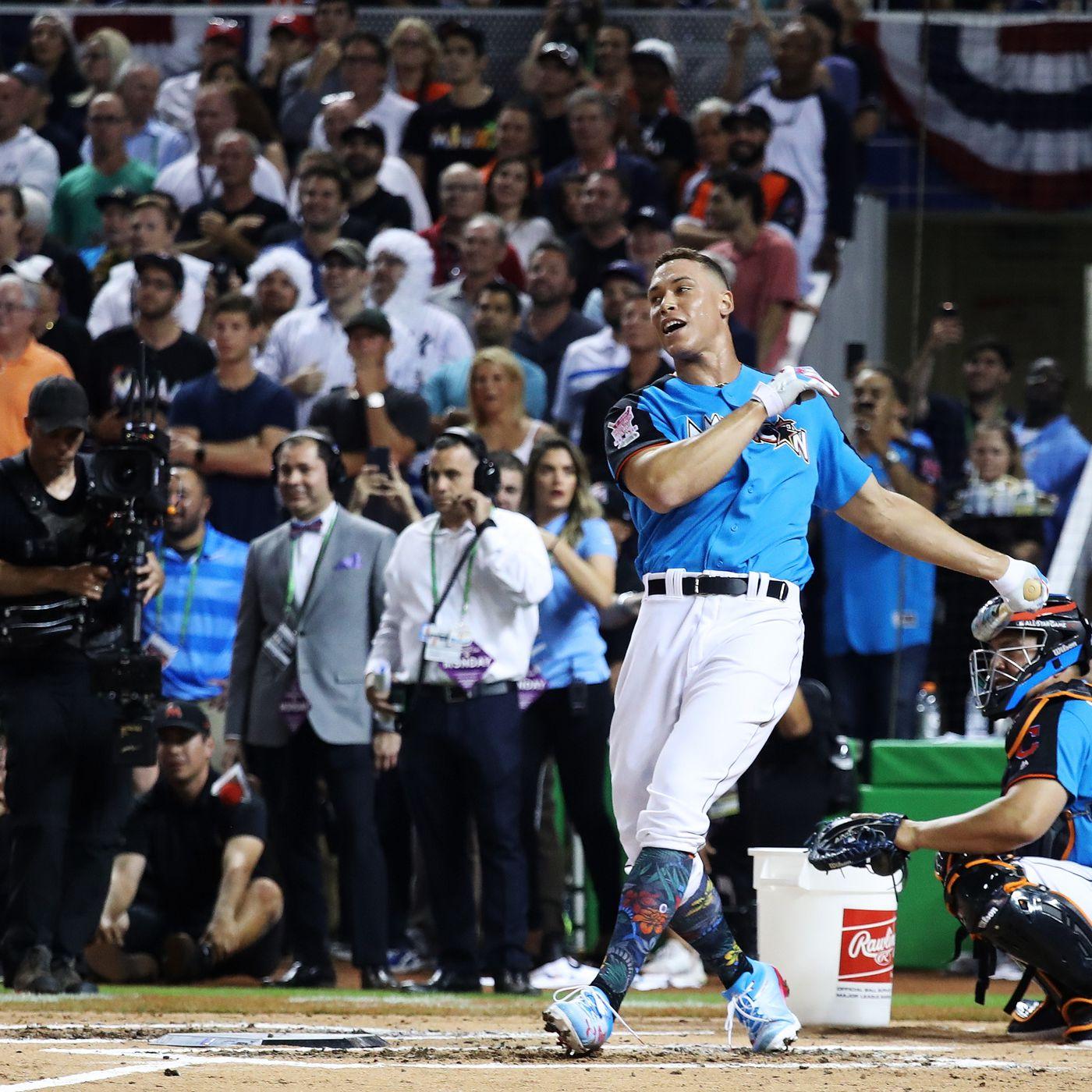 best authentic 12e35 84844 Aaron Judge wins MLB's 2017 Home Run Derby - SBNation.com