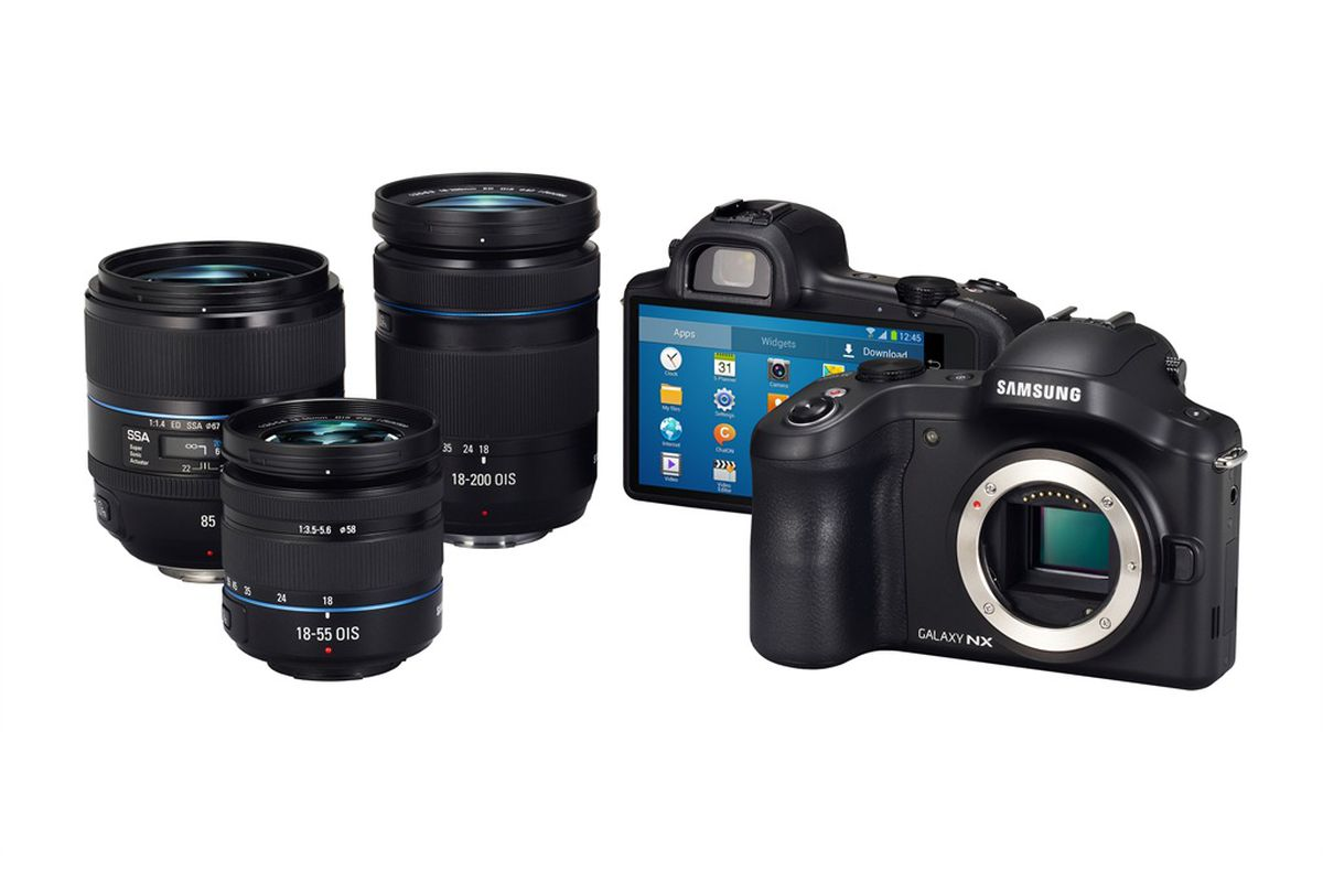 Gallery Photo: Samsung Galaxy NX pictures