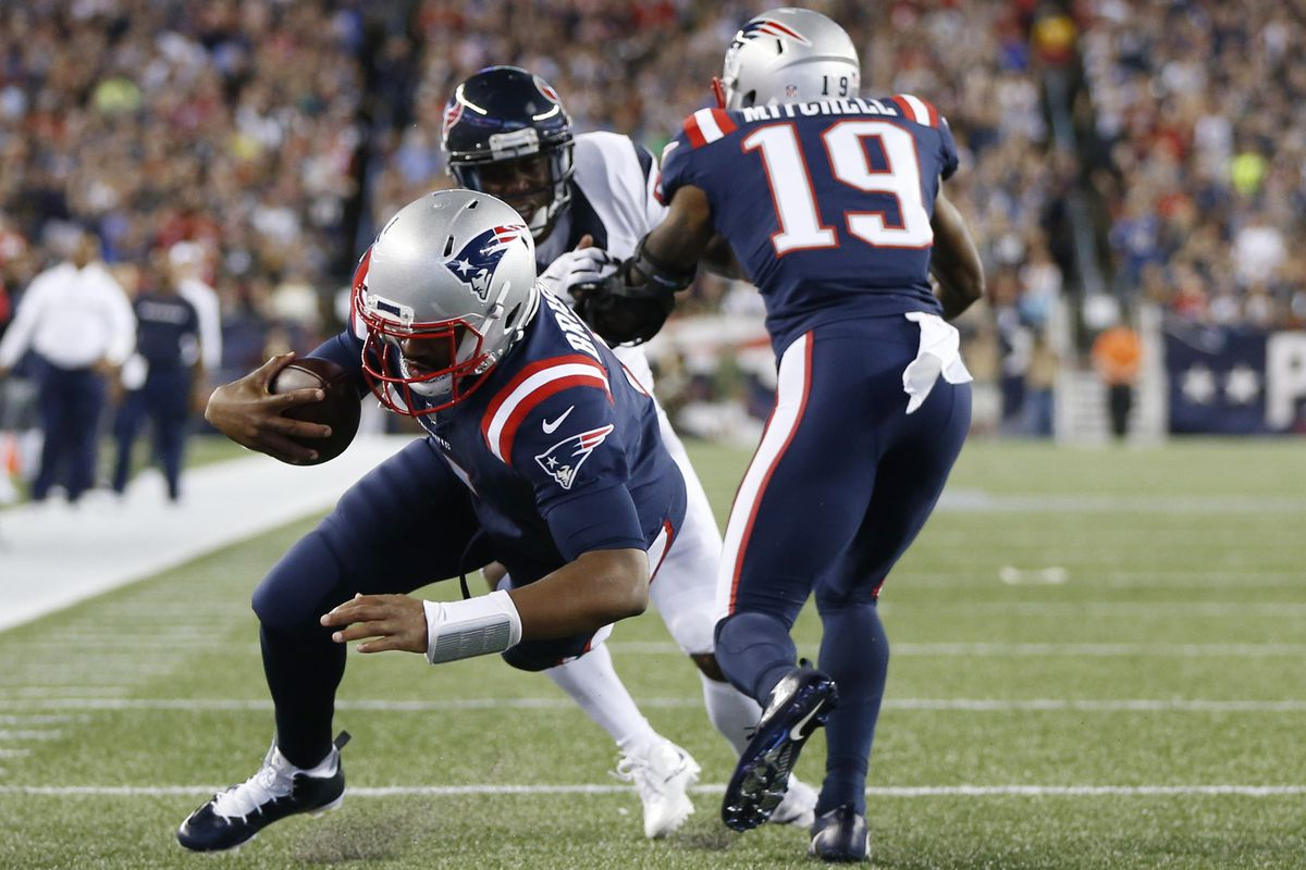 Two solid 2016 draft picks: Jacoby Brissett (No. 92) and Malcolm Mitchell (No. 112)