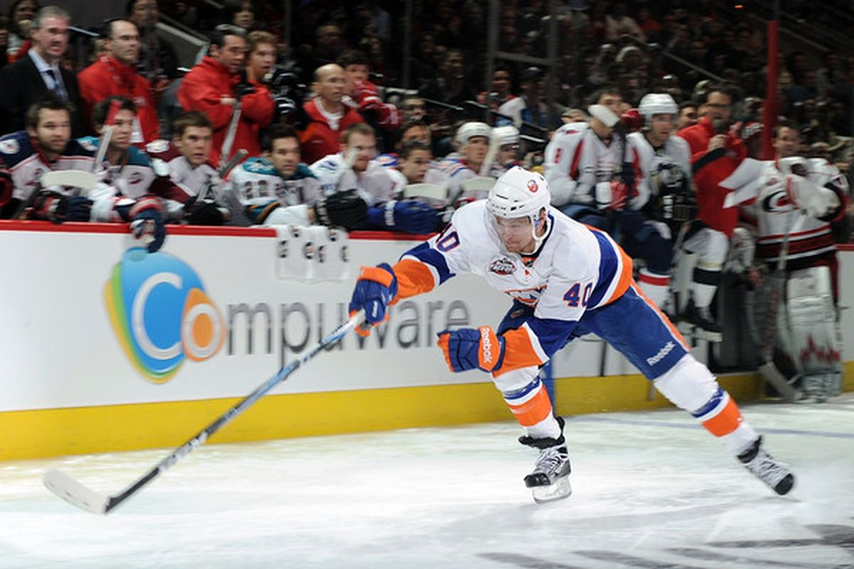 Michael Grabner and the Islanders hope to get off to a fast start -- get it?! -- to the second half.