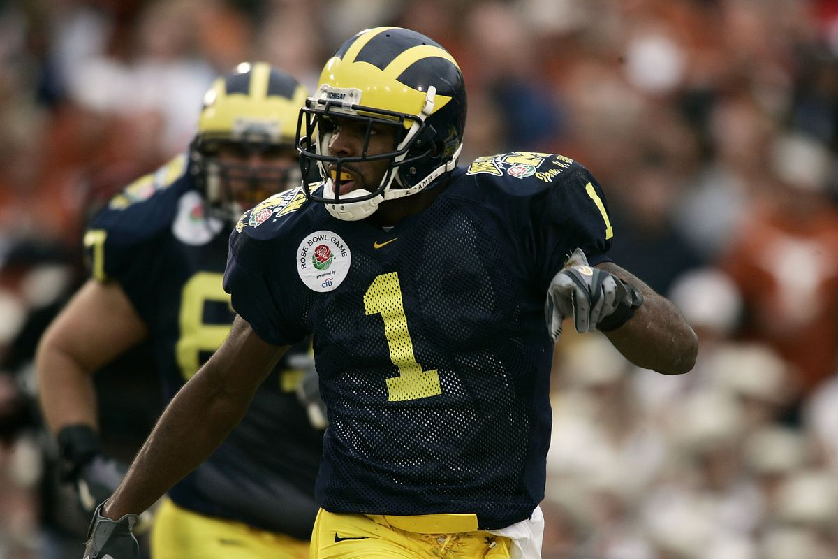 on sale ff3c8 be08f Braylon Edwards explains frustration with how Michigan hands ...