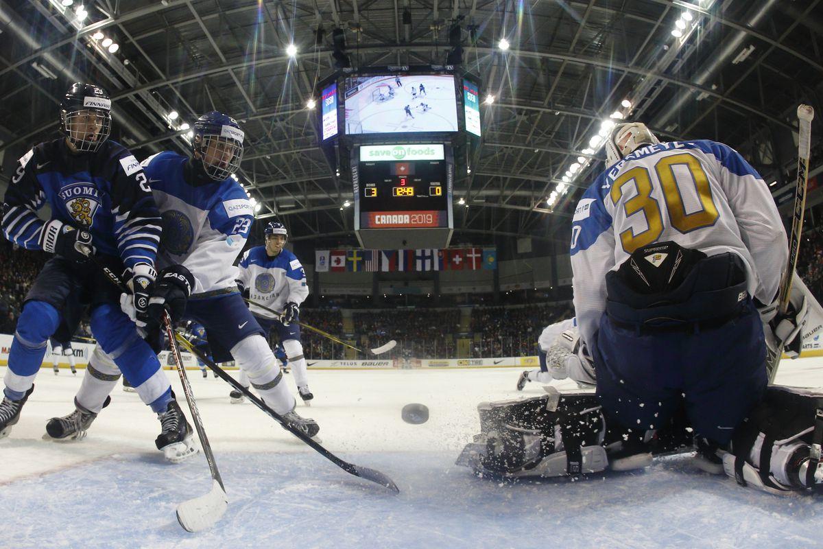 Finland v Kazakhstan - 2019 IIHF World Junior Championship