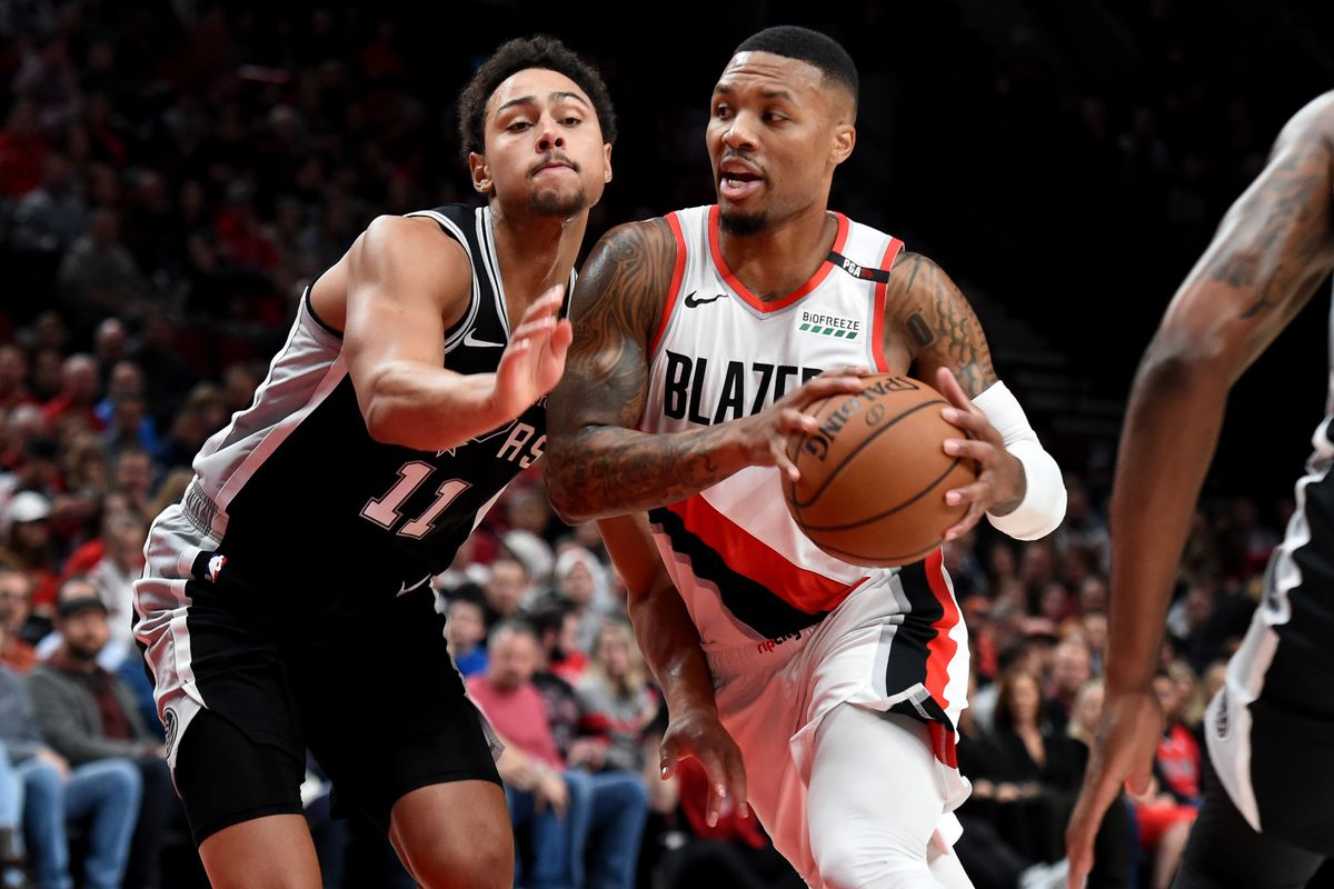 Game Preview: San Antonio Spurs vs. Portland Trail Blazers ...