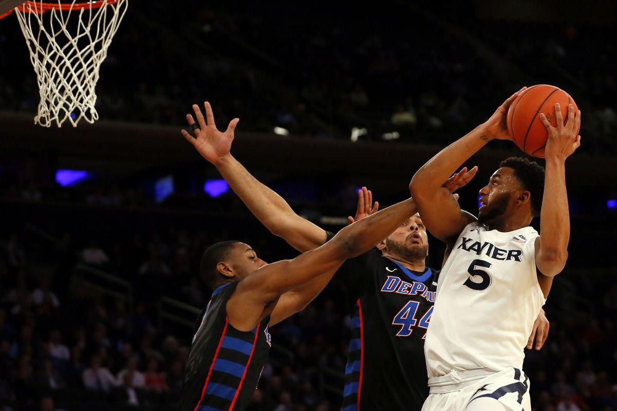 NCAA Basketball: Big East Conference Tournament-DePaul vs Xavier