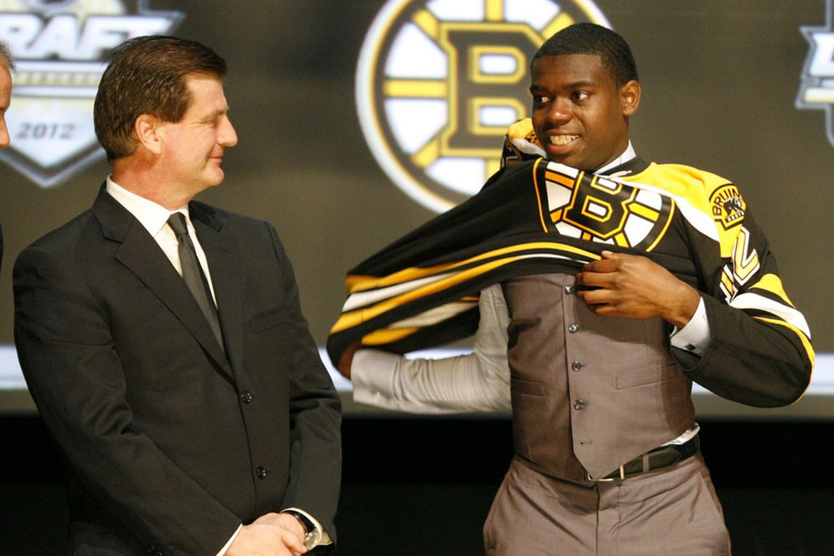 Boston Bruins 1st-round pick Malcolm Subban will need to be a lot stronger between the pipes if he hopes to hold on to the starting role.