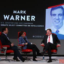 "U.S. Senator Mark Warner discussed big tech regulation, Mark Zuckerberg's Congressional hearings and more on stage with Kara Swisher and Peter Kafka. Watch the full conversation <a href=""https://www.recode.net/2018/5/30/17397134/senator-mark-warner-virginia-transcript-code-2018"">here</a>."
