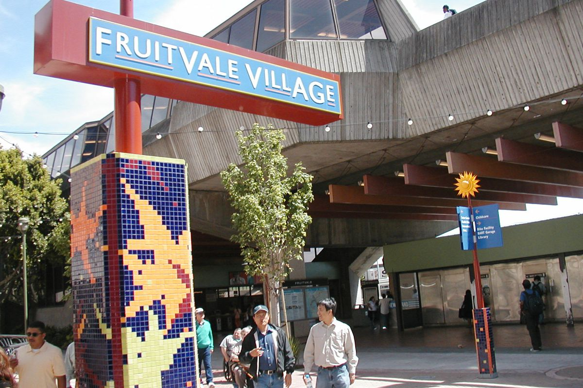 Bart Parking At Fruitvale Station Overflows While Nearby
