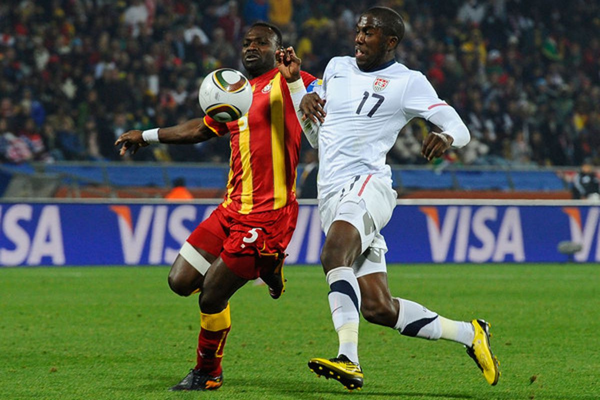 John 'The Rock' Mensah will be back in action against Congo and England next week.