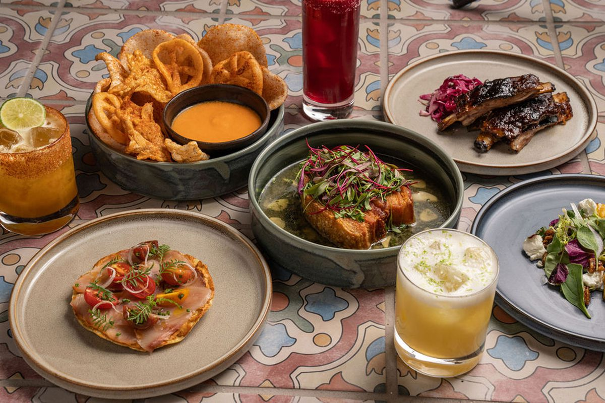 Lamb ribs, chicharron and other dishes now available at ¡Viva! inside Resorts World, from chef Ray Garcia.