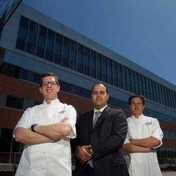 Justin Bayse (l), Christopher Balat (c), and Chris Leung (r)