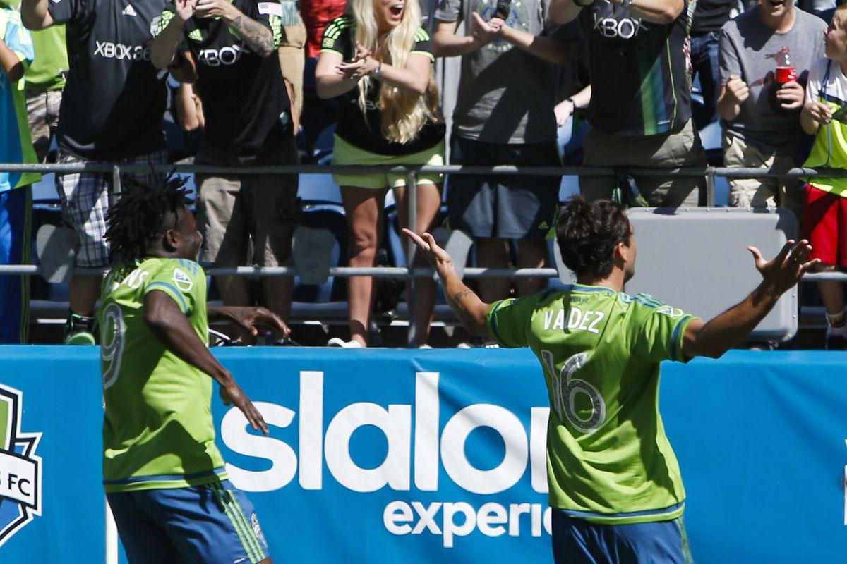 Seattle fans seem to enjoy their new striker partnership, but will Toronto FC?