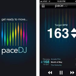 """<b><a href=""""http://playlists.pacedj.com/"""">PaceDJ:</a></b> Discovers popular music that matches a target pace or tempo while running, jogging, cycling, etc.<br></br> <b>Great for:</b> Music addicts<br></br> <b>Features:</b><br></br> ·Use already cr"""