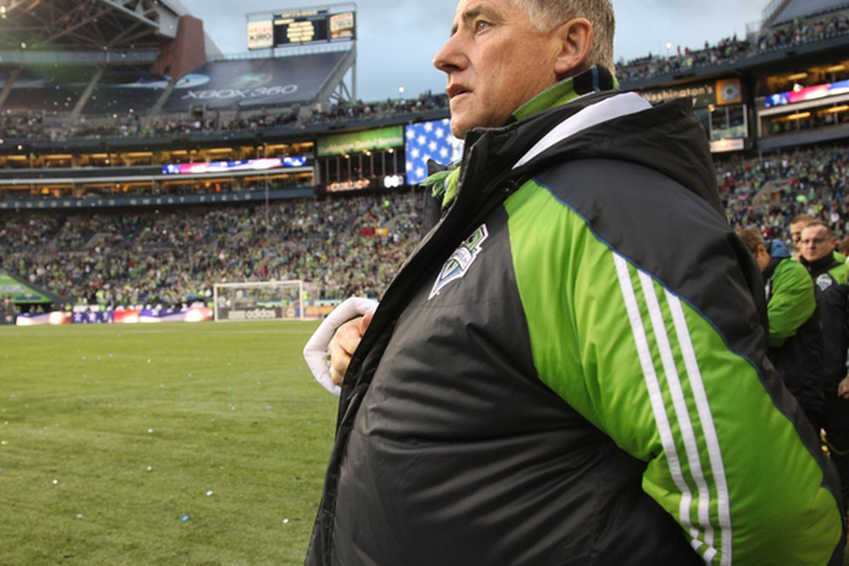 Sounders coach Sigi Schmid sees plenty of reasons to think his team can still make the playoffs this season.