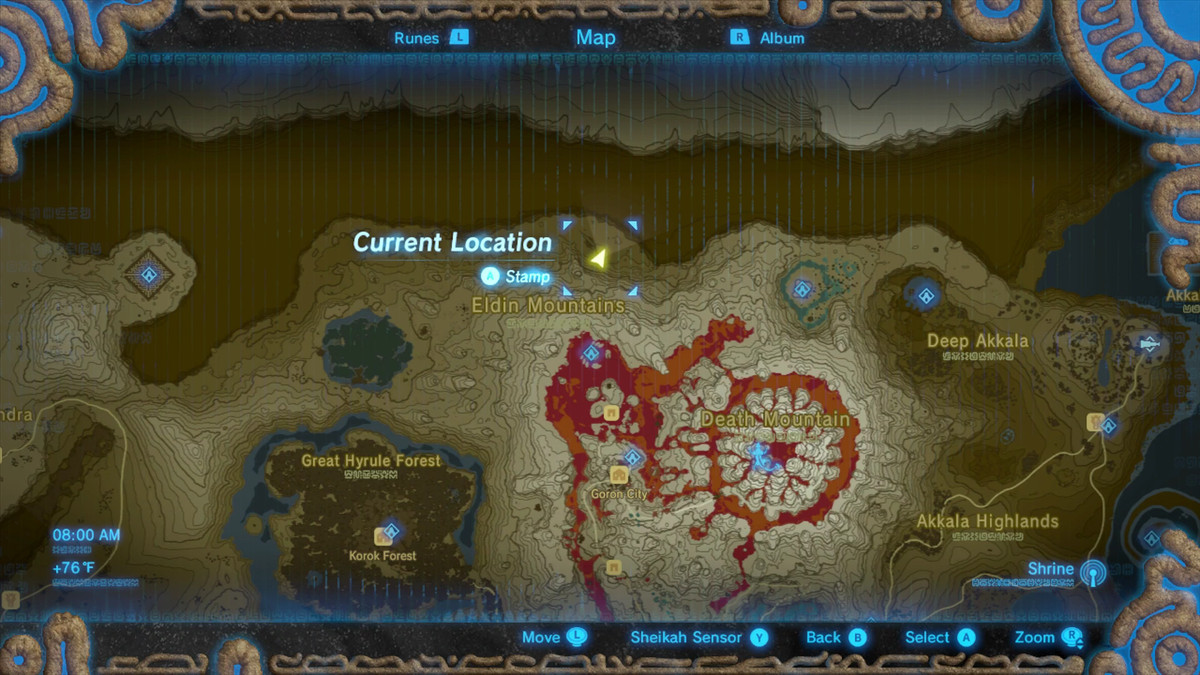 Zelda Botw Shrine Map >> Zelda Breath of the Wild guide: How to upgrade the Champion's Tunic - Polygon