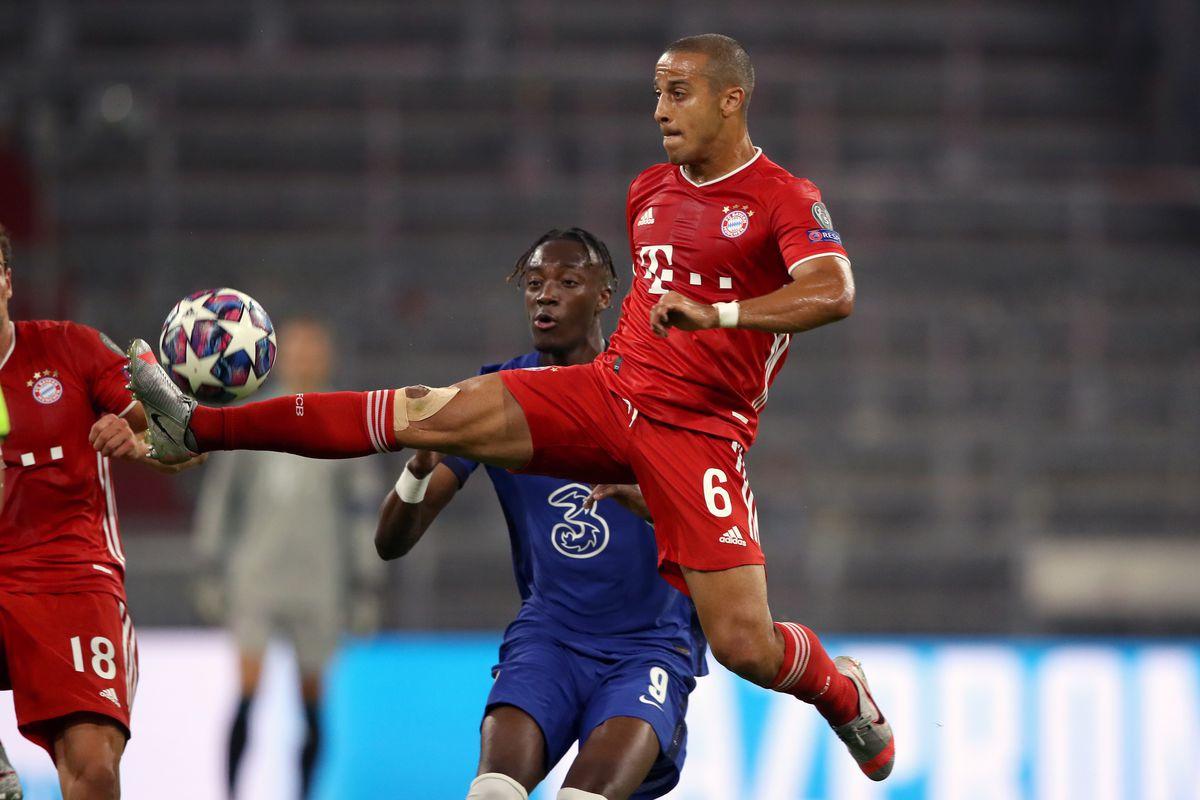 Report Liverpool Contact Bayern Munich Over Thiago Alcantara Update Fabrizio Romano Confirms The News Bavarian Football Works