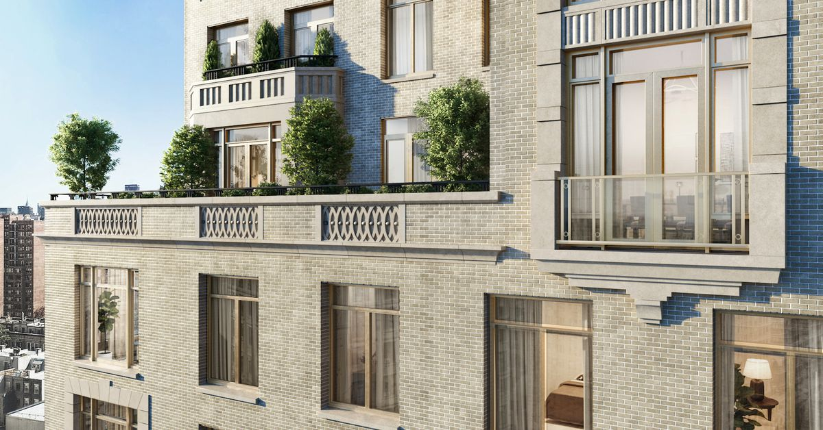 New looks at robert a m stern s upper west side condo for 1800 x 1200 window