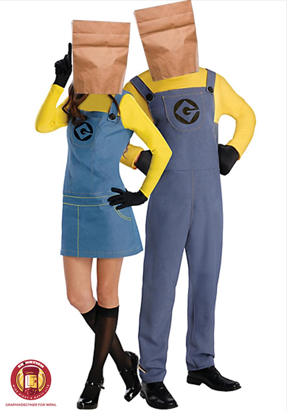 couples-minions-halloween