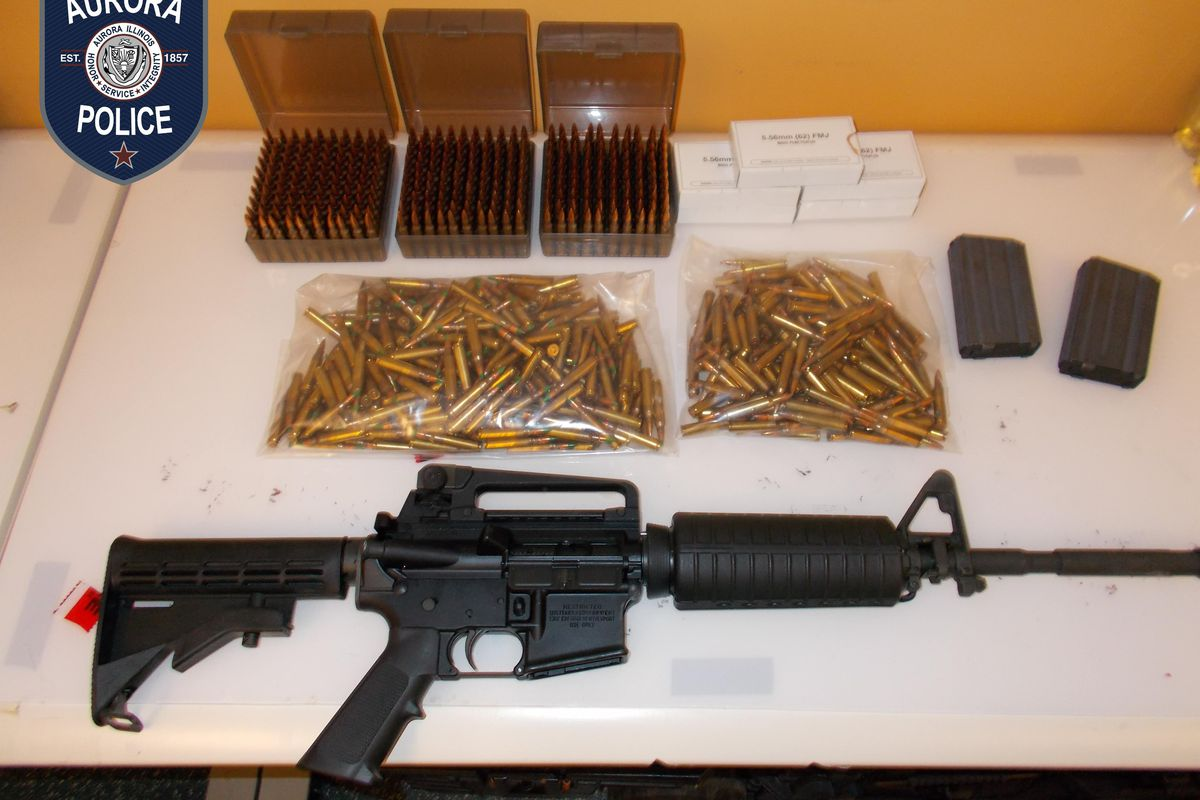 Man charged with unlawfully possessing rifle, 800 armor-piercing rounds