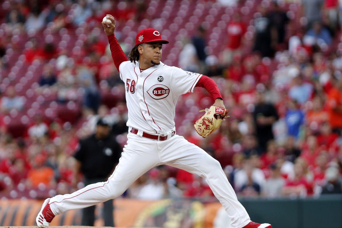 MLB: Houston Astros at Cincinnati Reds