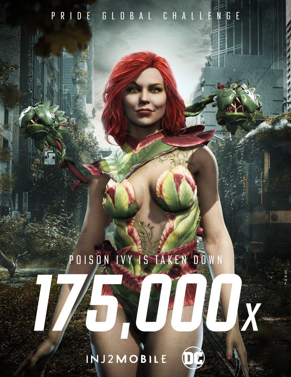 Poison Ivy in Injustice 2 Mobile