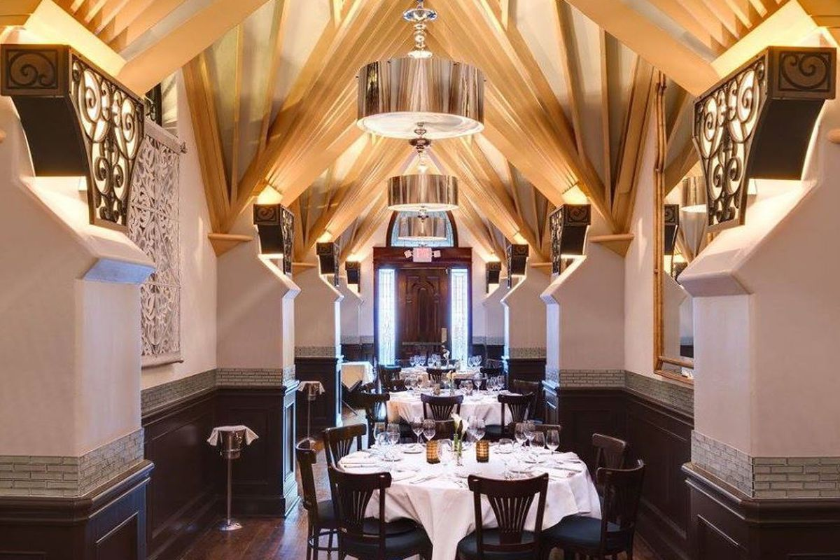 You've still got a few more weeks to dine in these stellar surroundings.