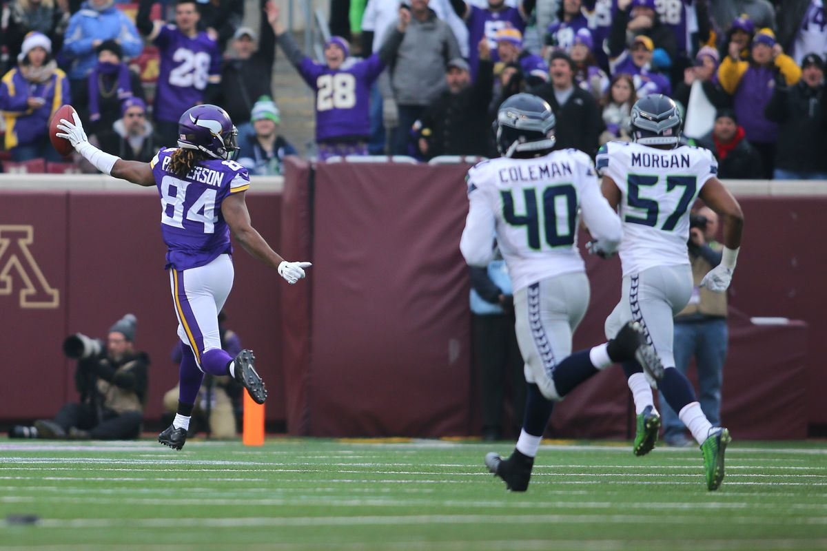 Thanks to a kickoff return touchdown, Cordarrelle Patterson was the highest scoring Vikings player in fantasy last week with 6 points...yeah, it was that bad.