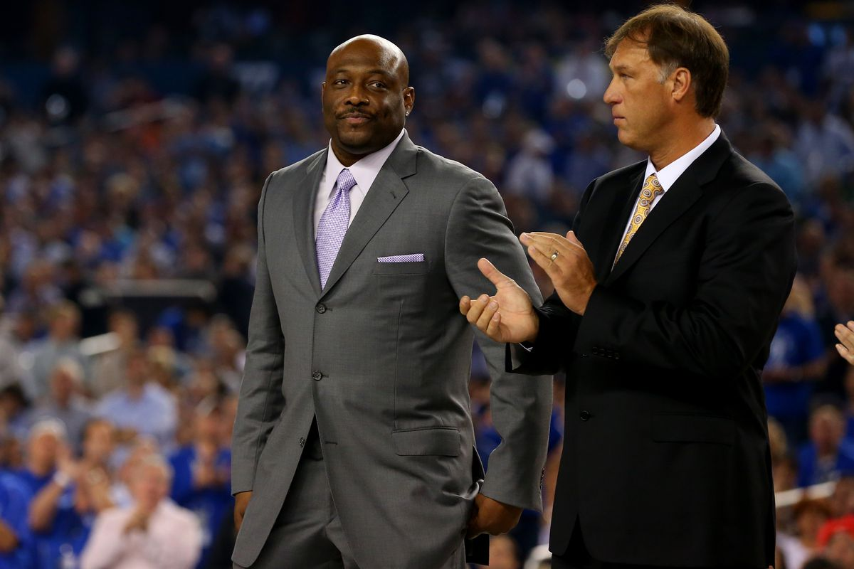 Mitch Richmond is finally ting the recognition he deserves