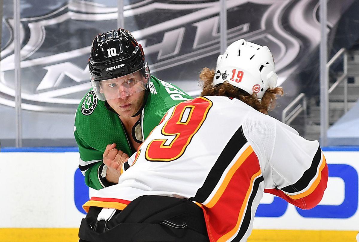 Calgary Flames v Dallas Stars - Game One