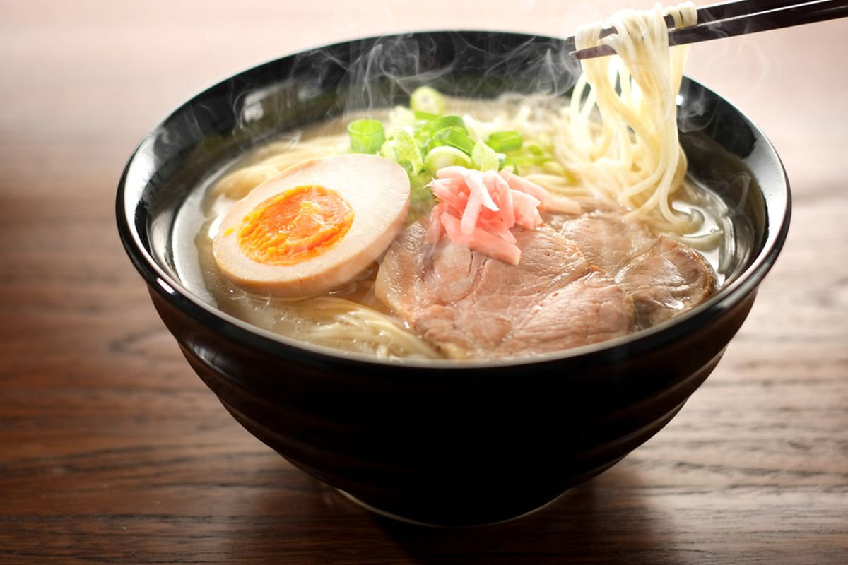 The weather is perfect for ramen at The Dubliner.