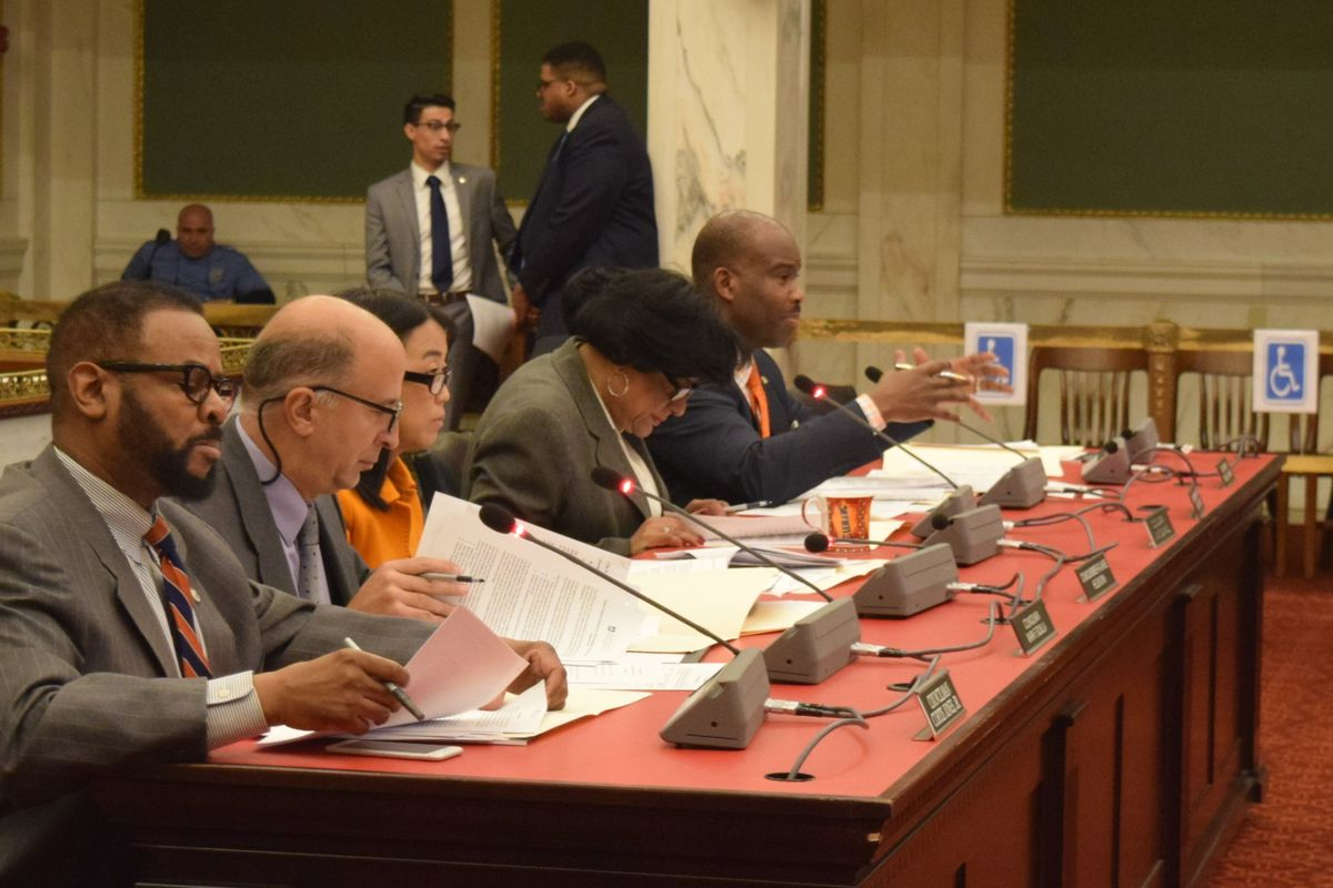 council at lead hearing