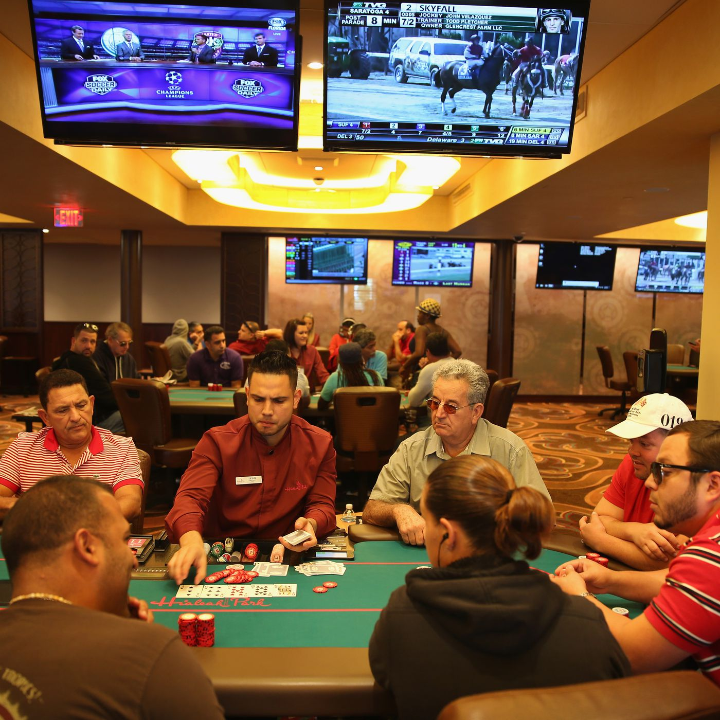 Hialeah Casino Poker