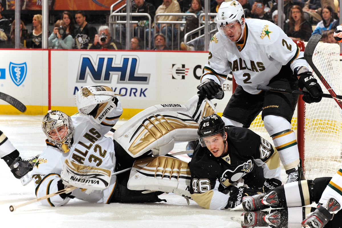 Even Kari's vaunted body scissors finisher wasn't enough to slow the Penguins down on this night...