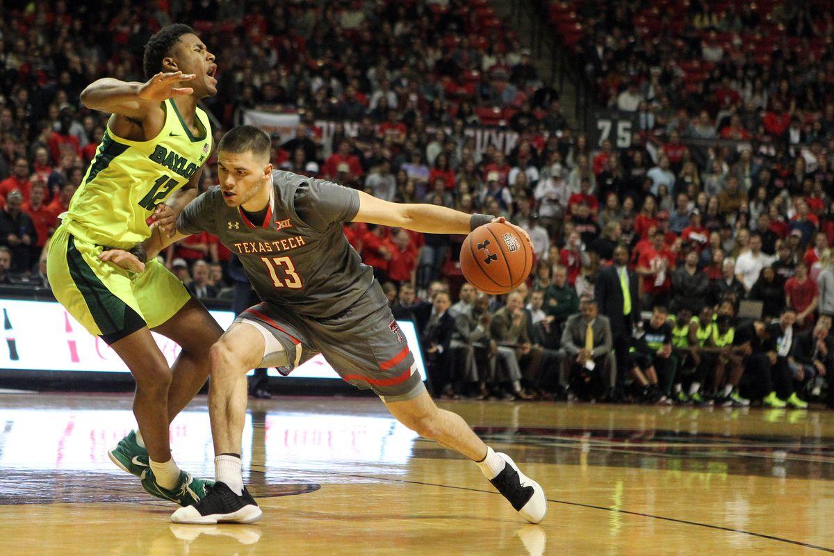 NCAA Basketball: Baylor at Texas Tech