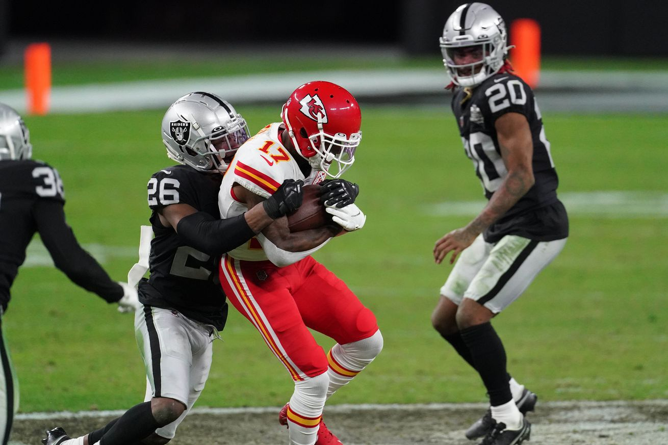 NFL: Kansas City Chiefs at Las Vegas Raiders