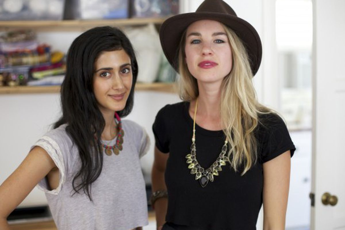 Tara Sowlaty and Jessie Groveman. Image via How You Glow.
