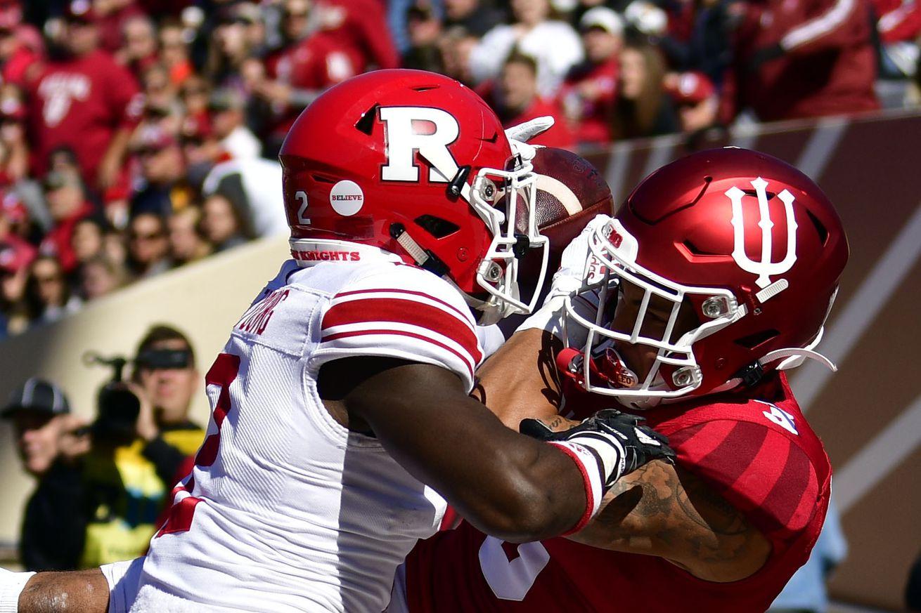 NCAA Football: Rutgers at Indiana