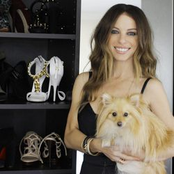 Joey Tierney and her Isabel Marant-loving pup, Edith.